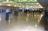 Balboa Park Club, ballroom dancing on San Diego's larges hardwood dance floor.