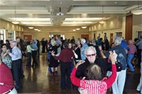 Encinitas Rotary Club sponsored senior dance at Encinitas Senior Center.