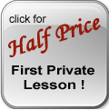 Half off first private lesson