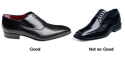 Good and Bad Mens Dance Shoes